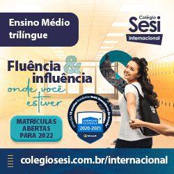 Colégio Sesi Internacional - display portal